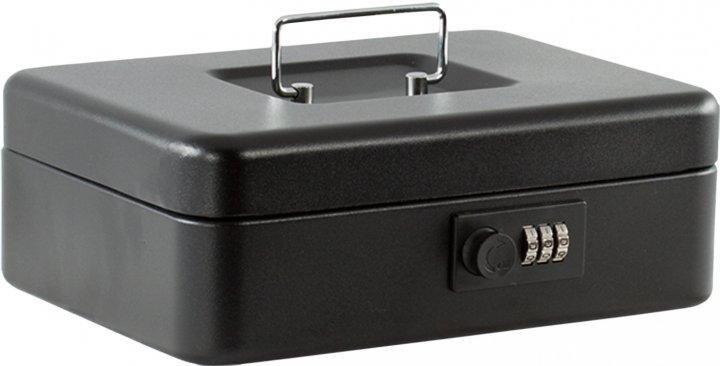 Кэшбокс для денег Buromax 30 см черный (BM.0402)