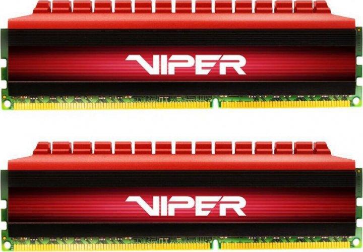 Оперативна пам'ять PATRIOT 16 GB (2x8GB) DDR4 3733 MHz Viper 4 (PV416G373C7K) - зображення 1