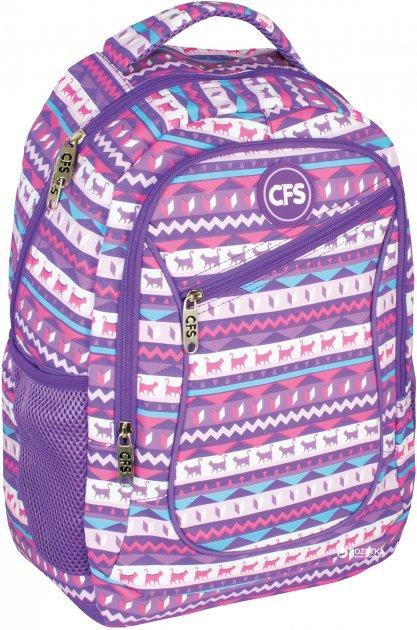 Рюкзак Сool For School 42х28х13 см 15 л Фиолетовый (CF86479)