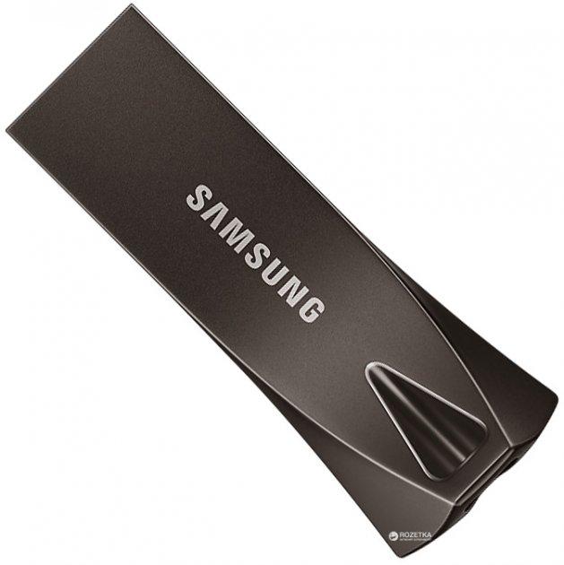 Samsung Bar Plus USB 3.1 256GB Black (MUF-256BE4/APC) - зображення 1