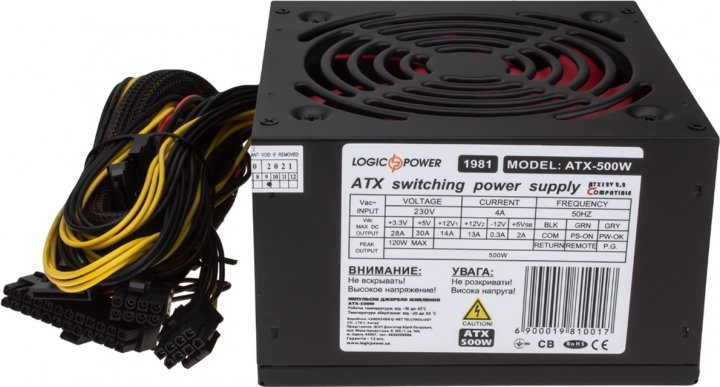 LogicPower ATX-500W OEM (LP1981) - изображение 1