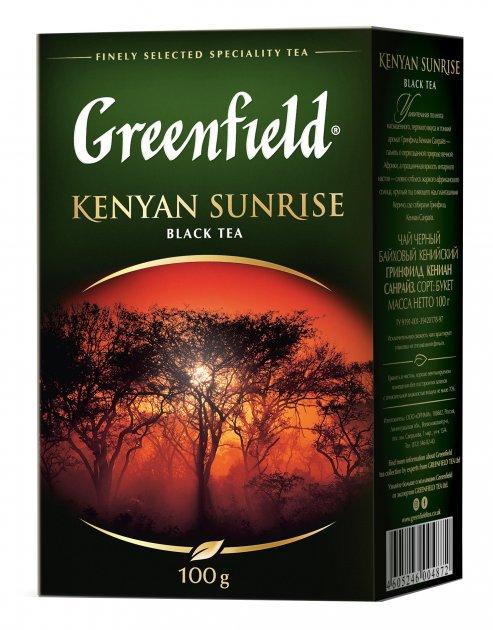 Чай рассыпной Greenfield Kenyan Sunrise 100 г (4823096801223) - изображение 1