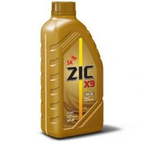 Моторное масло ZIC X9 LS 5W-40 Diesel 1л - изображение 1