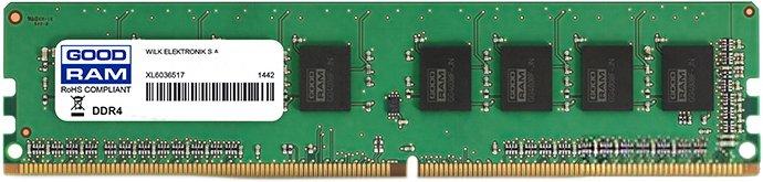 Оперативна пам'ять Goodram DDR4-2666 8192MB PC4-21300 (GR2666D464L19S/8G) - зображення 1