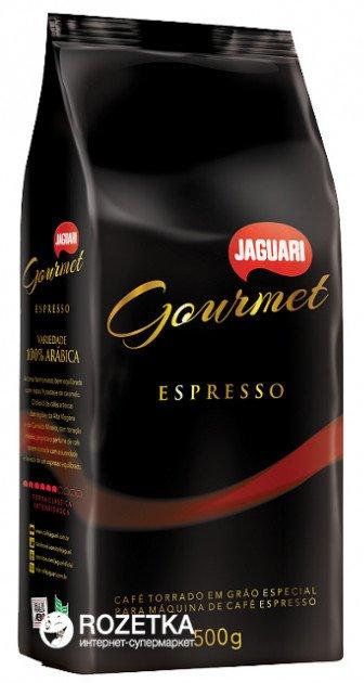 Кава в зернах Jaguari Gourmet Espresso 500 г (7896360210028) - зображення 1