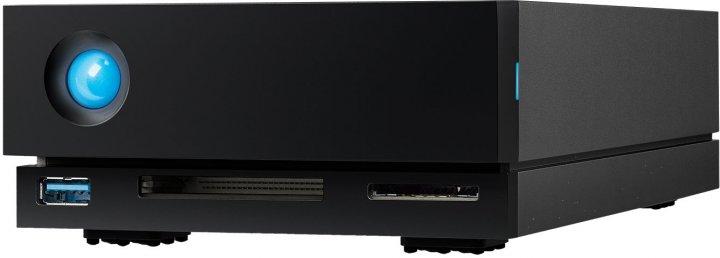 "Жорсткий диск LaCie 1 Big Dock Thunderbolt 3 4TB STHS4000800 3.5"" External - зображення 1"