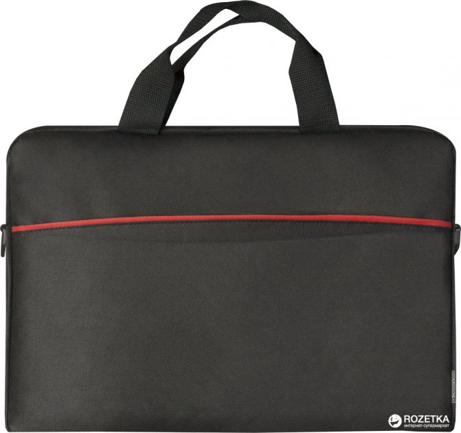 """Сумка для ноутбука Defender Lite 15.6"""" Black (26083) - зображення 1"""