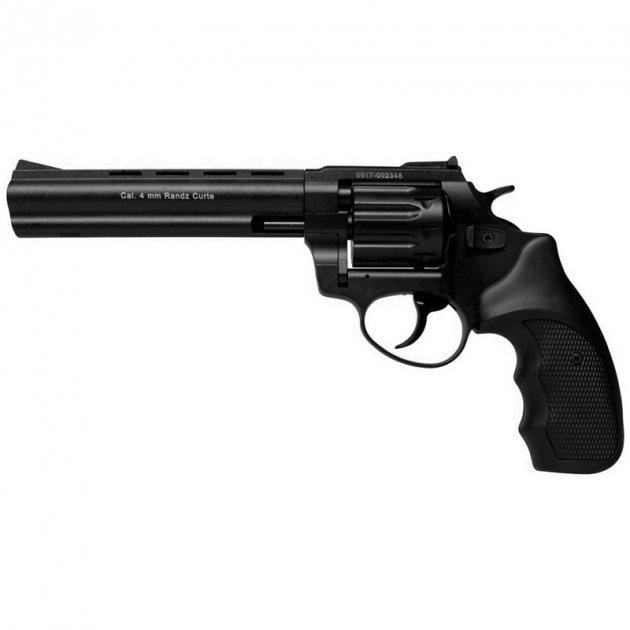 """Револьвер Флобера Stalker 6"""" 4 мм Black - зображення 1"""