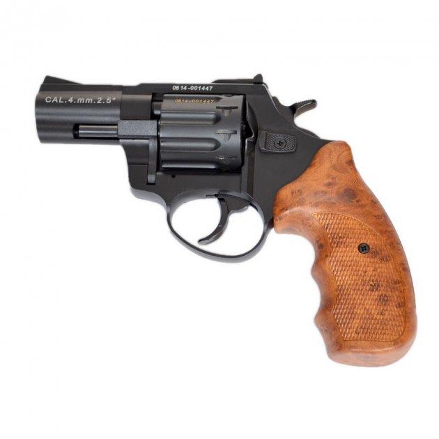 """Револьвер Флобера Stalker S 2.5"""" 4 мм Wood (барабан силумін) - зображення 1"""