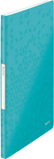 Папка пластиковая Leitz WOW А4 20 файлов Бирюзовая (46310051)