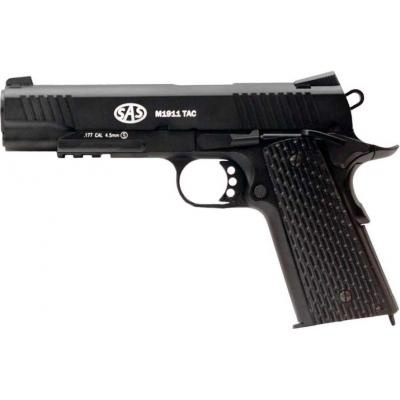 Пневматичний пістолет SAS M1911 Tactical - зображення 1