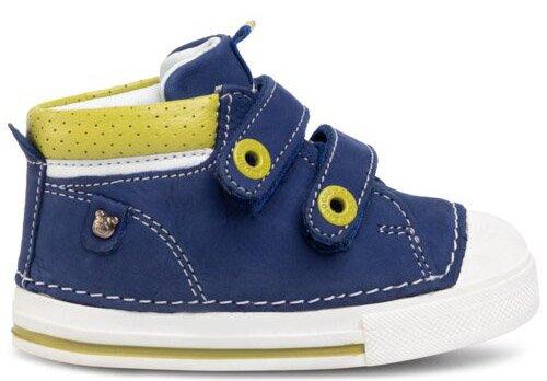 Кеды кожаные Lasocki CI12-2916-01 19 Синие (5903419104053) - изображение 1