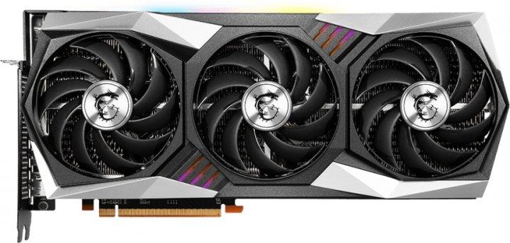MSI PCI-Ex Radeon RX 6900 XT Gaming X TRIO 16G 16GB GDDR6 (256bit) (2105/16000) (HDMI, 3 x DisplayPort) (RX 6900 XT GAMING X TRIO 16G) - зображення 1