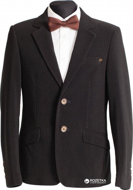 Пиджак Lilus 217П мод 8-655 122 см 28 р Черный (ROZ6205032423) - изображение 1