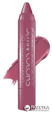 Помада-карандаш BelorDesign Smart Girl Satin Colors 002 лиловый 2.3 г (4810156046168) - изображение 1