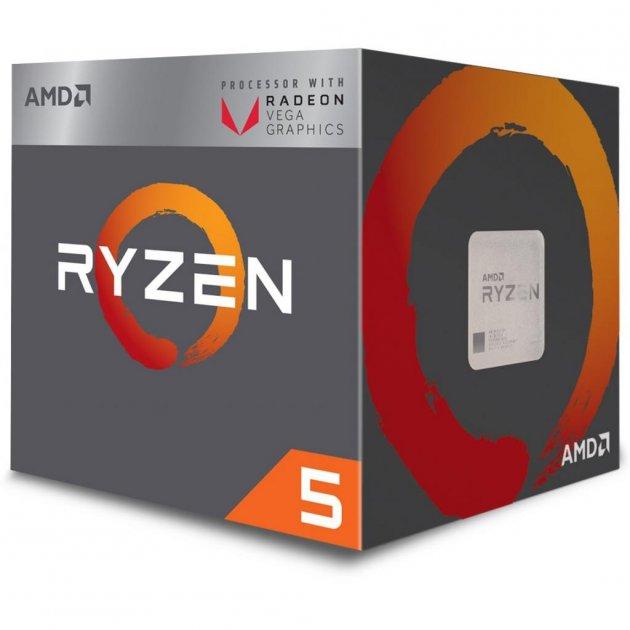 Процессор AMD Ryzen 5 2400G (YD2400C5FBBOX) (WY36YD2400C5FBBOX) - изображение 1