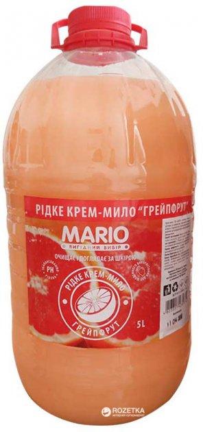 Крем-мыло Mario Маротех Грейпфрут 5 л (4823317435374) - изображение 1