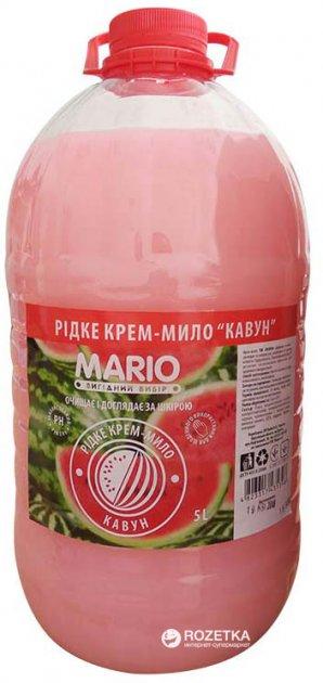 Крем-мыло Mario Маротех Арбуз 5 л (4823317435398) - изображение 1