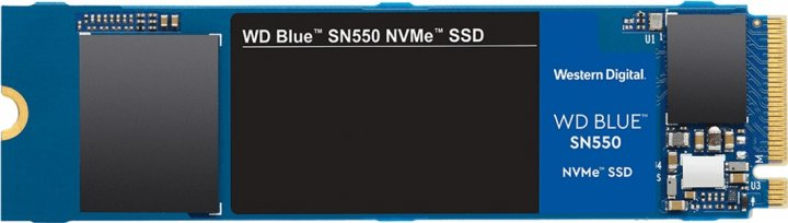 Western Digital Blue SN550 NVMe SSD 1TB M.2 2280 PCIe 3.0 x4 3D NAND (TLC) (WDS100T2B0C) - изображение 1