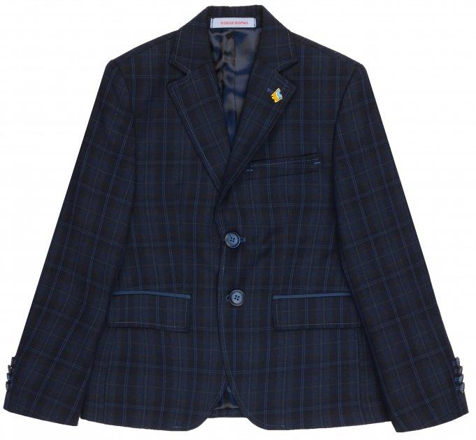 Пиджак Новая форма 121.2 Rick 142 см 32 р Синий (2000067009556) - изображение 1