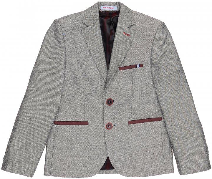 Пиджак Новая форма W 040 Colin 142 см 32 р Серый (2000066977146) - изображение 1