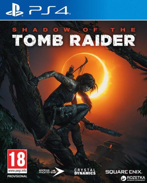 Игра Shadow of the Tomb Raider для PS4 (Blu-ray диск, Russian version)