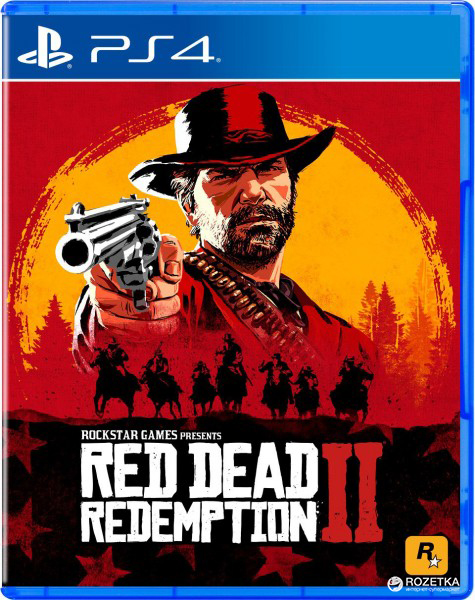 Игра Red Dead Redemption 2 для PS4 (Blu-ray диск, Russian subtitles)