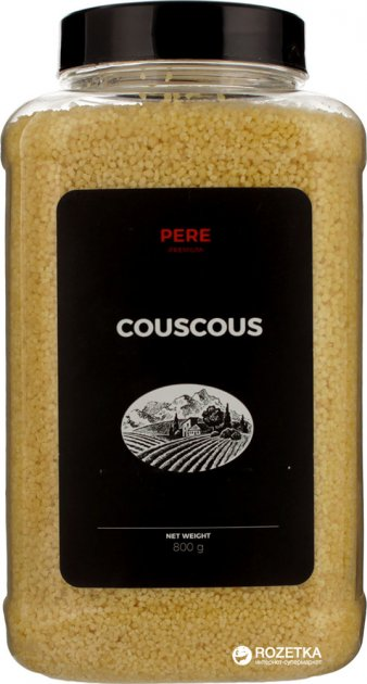 Крупа Pere Кускус пшеничний 800 г (4820191591318) - зображення 1