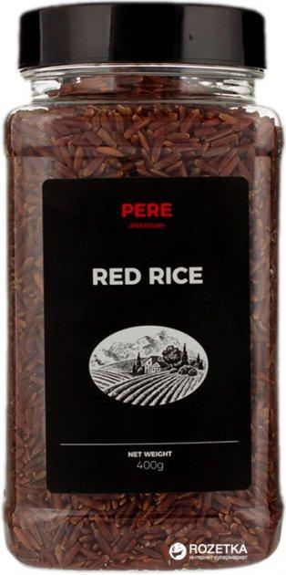 Рис Pere Червоний 400 г (4820191591370) - зображення 1