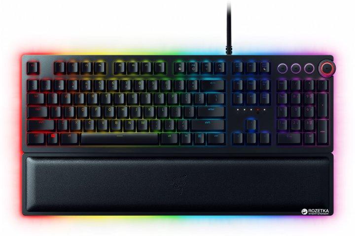 Клавіатура дротова Razer Huntsman Elite Clicky Optical Switch (RZ03-01870100-R3M1) - зображення 1