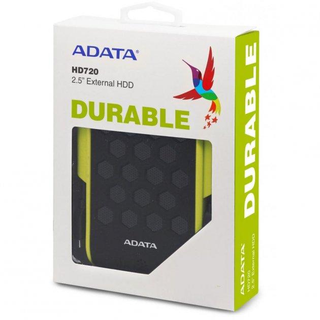 Внешний жесткий диск 2.5 1TB ADATA (AHD720-1TU31-CGN) (WY36AHD720-1TU31-CGN) - изображение 1
