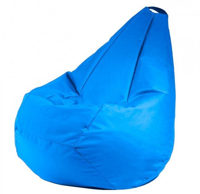 Крісло мішок груша 120х85см Блакитний - зображення 1