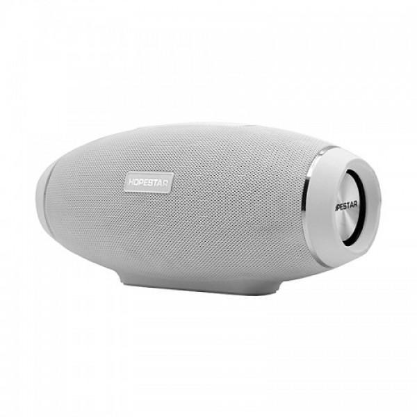 Портативна Bluetooth колонка Hopestar Original з трьома активними динаміками Сіра (H20) - зображення 1