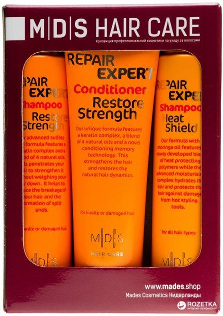 Косметичний набір Mades Cosmetics для догляду за волоссям Захист і відновлення (8710444240802) - зображення 1