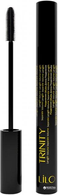 Туш для вій Lilo Trinity Volume Length Separate Об'єм Довжина Розділення 9 г (4814587000355) - зображення 1