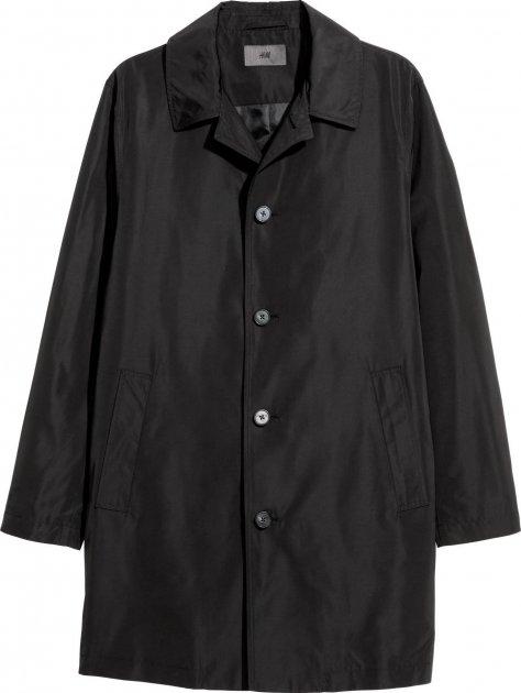 Пальто H&M 5665427RP21 56 Черное (PS2030000050222) - изображение 1