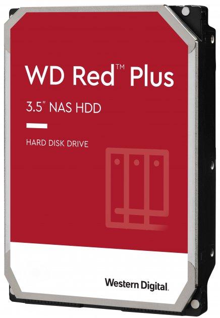 Жесткий диск Western Digital Red Plus 8TB 5400rpm 256MB WD80EFAX 3.5 SATA III - изображение 1
