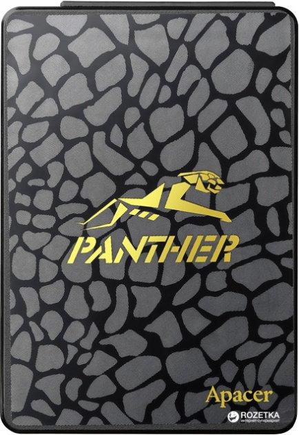 """Apacer AS340 Panther 480GB 2.5"""" SATAIII TLC (AP480GAS340G-1) - зображення 1"""