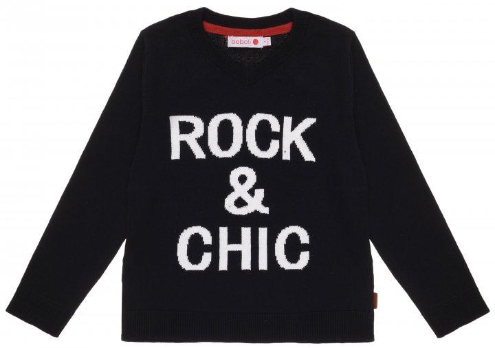 Пуловер Boboli 736118-890 116 см (8434484196669) - изображение 1
