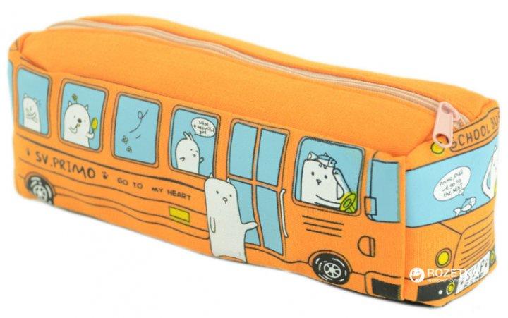 Пенал Traum 7009-74 Оранжевый (4820007009747) - изображение 1