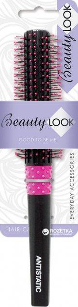 Расческа Beauty Look Брашинг средняя Черная (485179) (5902704851795) - изображение 1