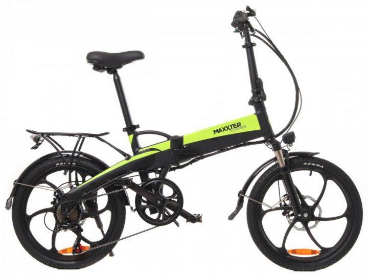 Электровелосипед Maxxter Ruffer Black-Green - изображение 1