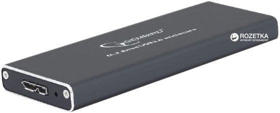 Зовнішня кишеня Gembird для HDD/SSD M.2 (NGFF) USB 3.0 (EE2280-U3C-01) - зображення 1