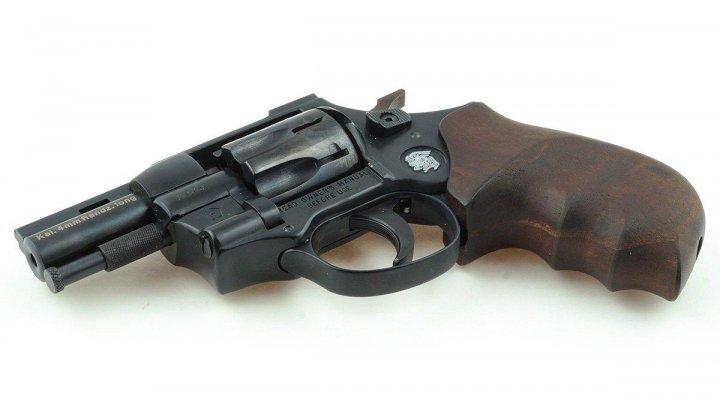 "Револьвер Weihrauch HW4 2.5"" з дерев'яною рукояттю - зображення 1"