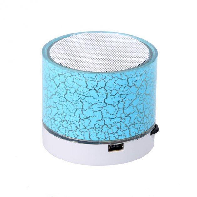 Портативная Bluetooth колонка с подсветкой SPS B1 BT Blue (1001 006562) - изображение 1