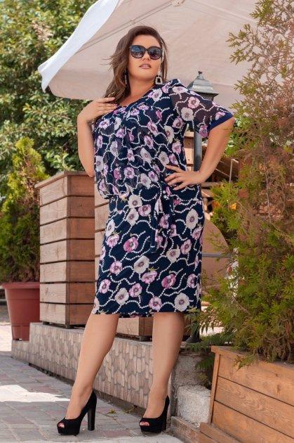 Платье ALDEM 1413 58 Темно-синее (2000000367453) - изображение 1
