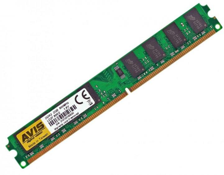 Оперативна пам'ять DDR2-800 2Gb PC2-6400 AVIS LD2F800/2 2048MB (770008489) - зображення 1