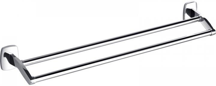 Тримач для рушників подвійний PERFECT SANITARY APPLIANCES RM 1001-60 прямий 60 см Латунь - зображення 1