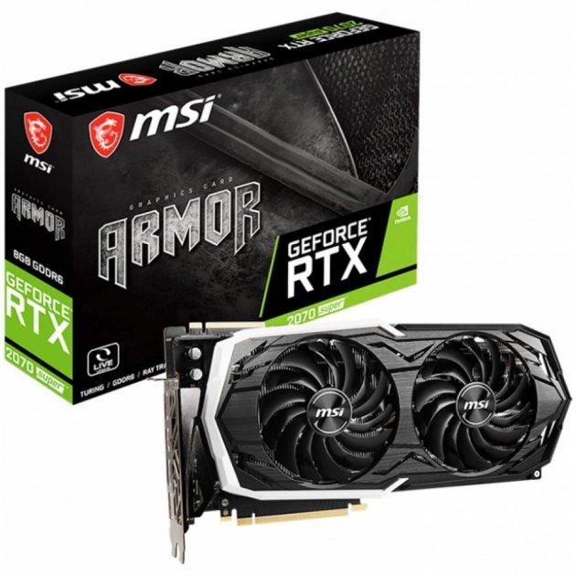 Відеокарта MSI GeForce RTX2070 SUPER 8192Mb ARMOR (RTX 2070 SUPER ARMOR) - зображення 1