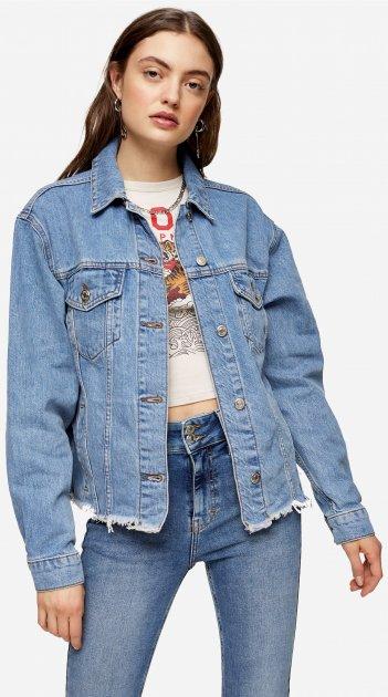 Куртка джинсова TopShop 05J77R-MDT 10 (46) (5045433898607) - зображення 1